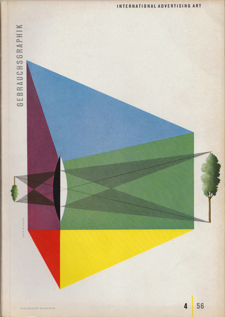 April issue of Gebrauchsgraphik, 1956