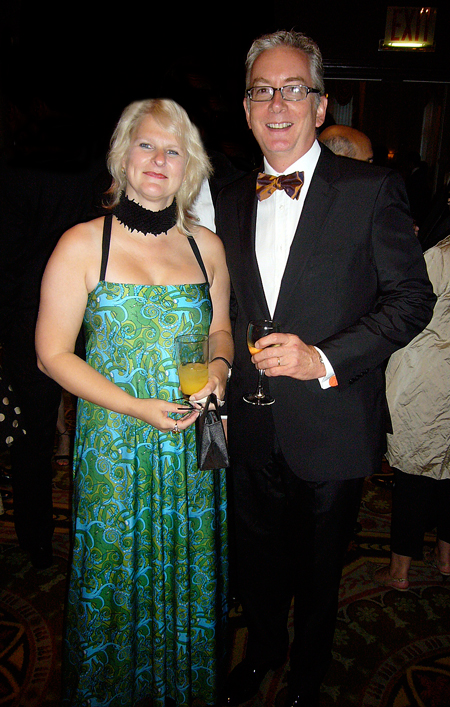 Marian Bantjes and dapper Stephen Doyle