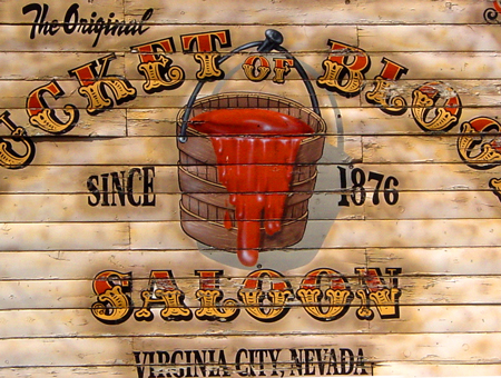 Bucket of Blood Saloon, Virginia City, Nevada