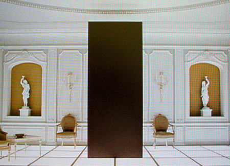 The Tycho monolith in a neo-classical Bel-Air style home circa 1968