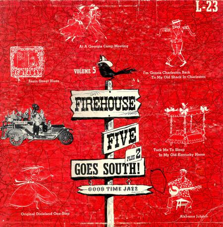 LP cover, 1954