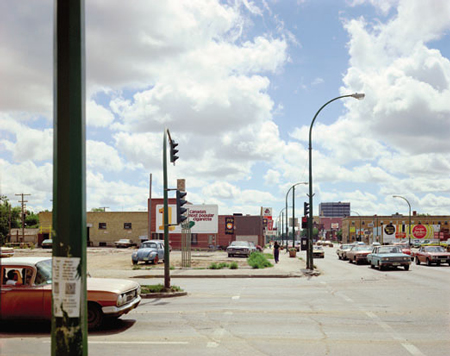 Stephen Shore, Victoria Ave. and Albert St., Regina, Sasketchewan, 1974