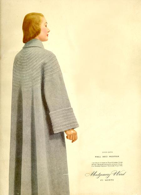 Montgomery Ward catalog 1953-1954