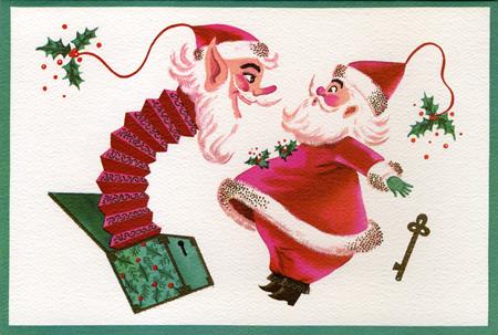 The demon-in-the-box Santa