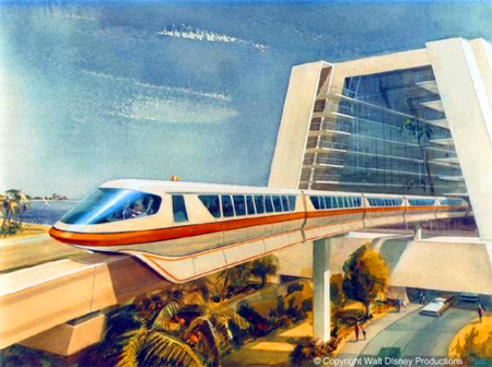 Monorail Mark IV, Walt Disney World