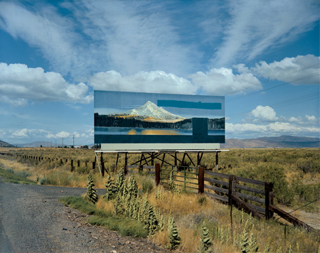 Stephen Shore, U.S. 97, South of Klamath Falls, Oregon, July 21, 1973