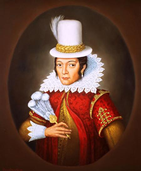 Matoaka Pocahontas Powhatan, 1595-1617