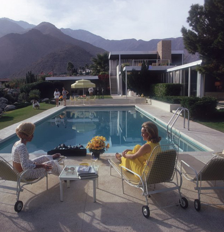 Slim Aarons, Palm Springs 1971