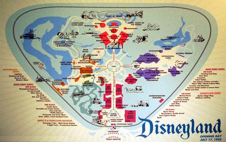 Map, Disneyland