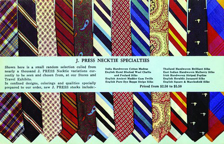 Good ties, but you need to order through the time machine