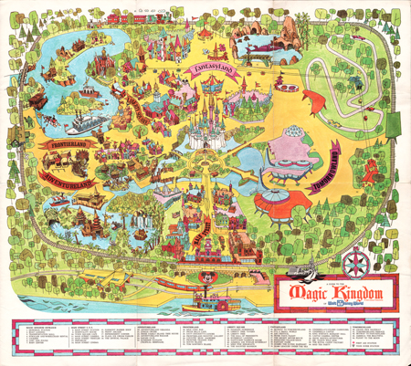 Map, Walt Disney World