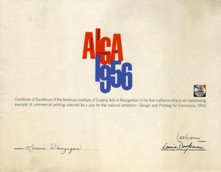 AIGA 1956