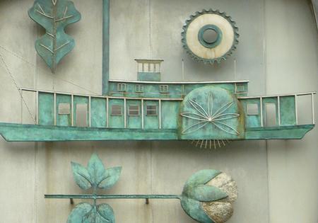 Riverboat detail