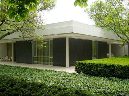 Miller House exterior