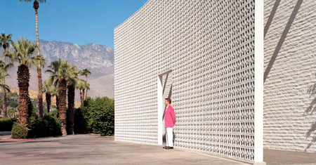 Parker Hotel, Palm Springs, entrance