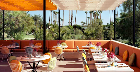 Parker Hotel, Palm Springs, cafe