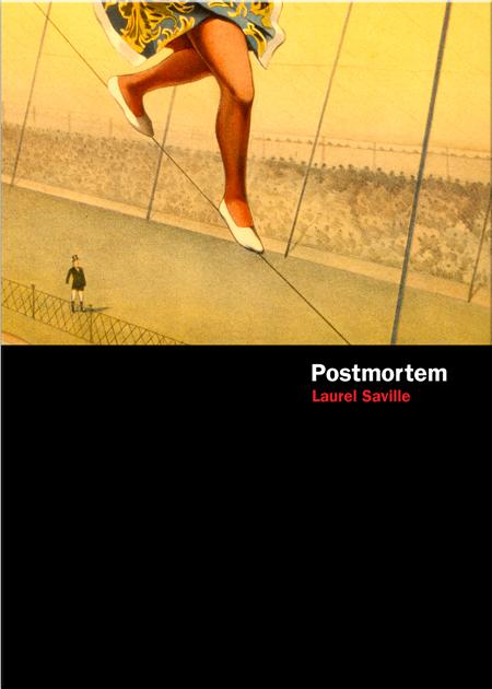Postmortem by Laurel Saville, final cover
