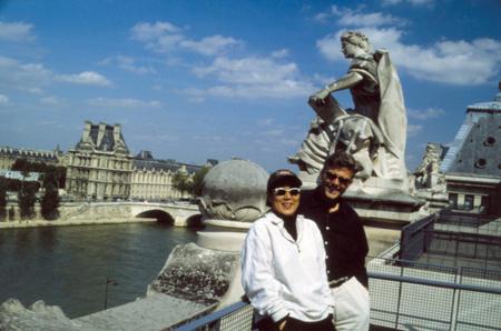 Sean Adams and Noreen Morioka, Michael Boshnaick photographer, 1999.