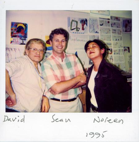 David Hockney, Sean Adams and Noreen Morioka, 1998