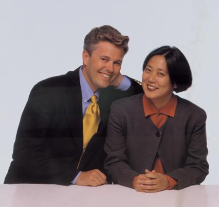Sean Adams and Noreen Morioka, Penny Wolin photographer, 1995