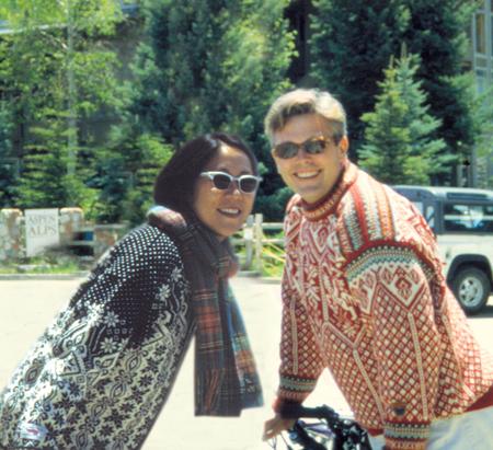 Sean Adams and Noreen Morioka, Aspen, 1996