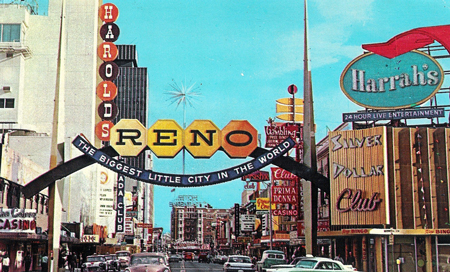 the Reno arch: the good one