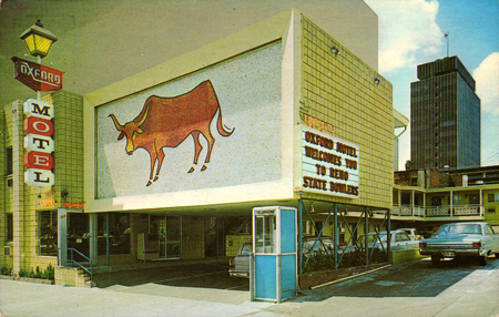 Oxford Motel, 1969