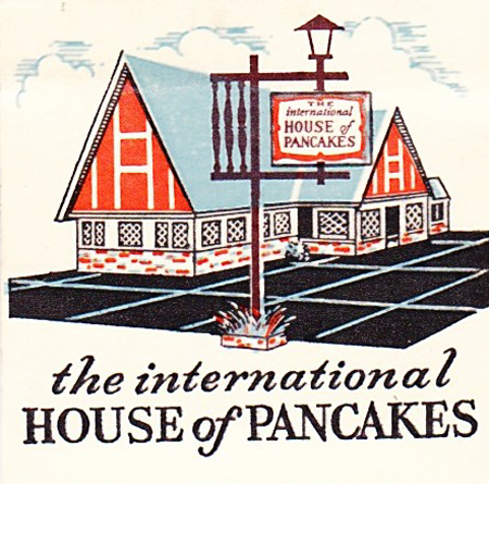 International House of Pancakes illustration