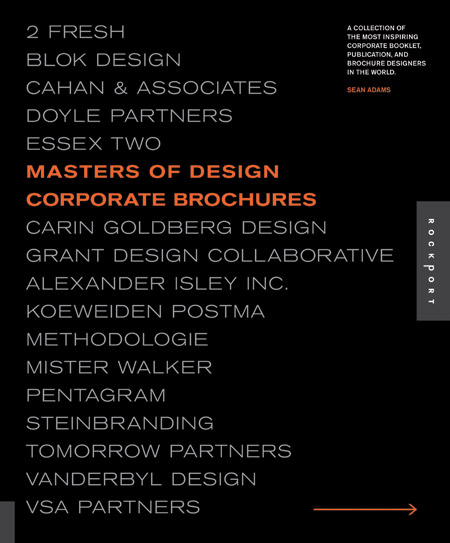Masters of Design: Corporate Brochures (my preferred title was Corporate Communications
