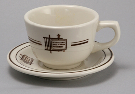 International House of Pancakes cup and saucer