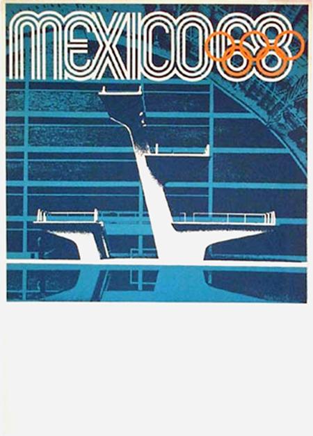 1968 Mexico City Olympics poster