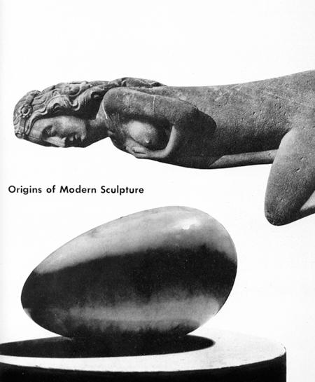 Paul Rand, Origins of Modern Sculpture
