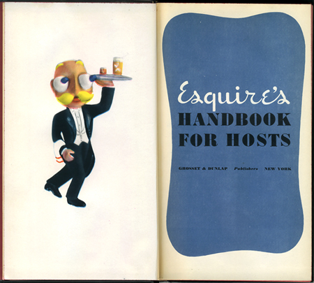 Esquire's Handbook for Hosts: substitute any mixer with Fresca
