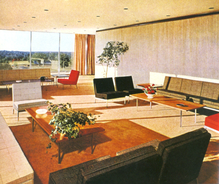 Florence Knoll Bassett, General Life Insurance Company, 1954