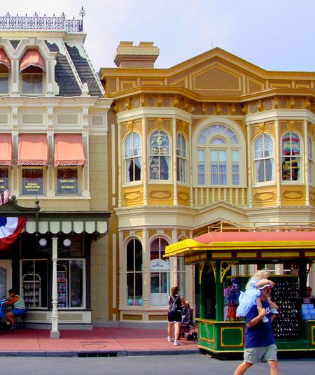 Main Street, Walt Disney World, 1971