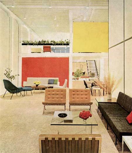 Florence Knoll Bassett, Knoll Showroom, 1955