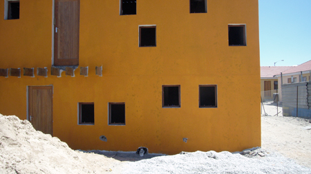 Housing project, Capetown, South Africa
