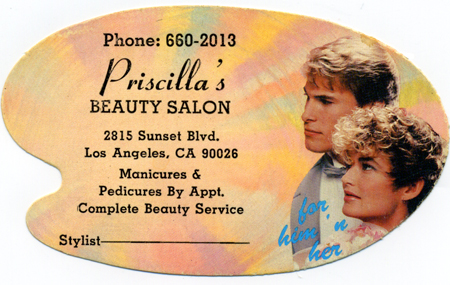 Priscilla's Beauty Salon, Los Angeles, California