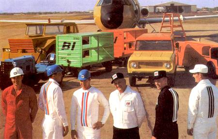 Branniff Airlines, Alexander Girard, 1965