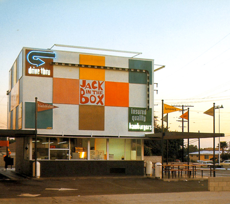 Jack in the Box restaurant, 1964, courtesy of Charles Phoenix