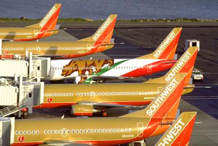 Southwest Airlines colors