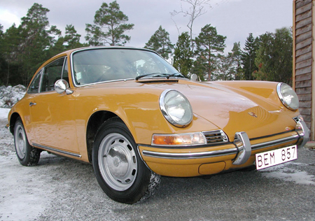 Porsche 912, Bahama Yellow