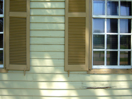 paint color detail, Colonial Williamsburg