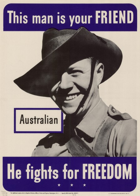WWII Australian poster, 1942