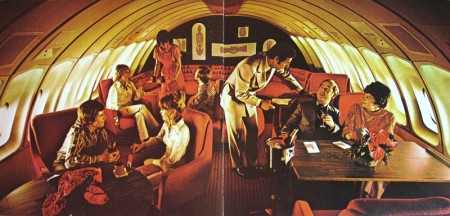 Continental Airlines, Boeing 747, 1970s