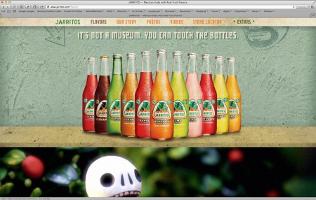 www.Jarritos.com, design: Sunday Morning