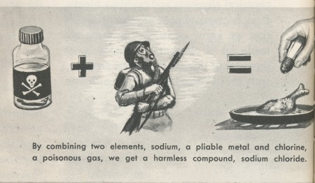 gassed soldiers create tasty meals