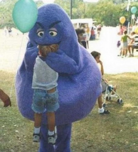 The evil Grimace