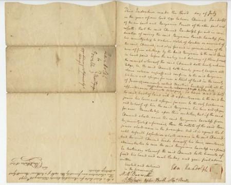 Benjamin Powell letter
