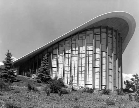 Fleischmann Planetarium, University of Nevada, 1963
